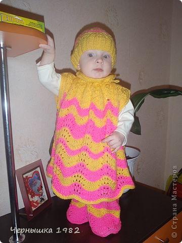 Увидела у одной женщины, идею такого костюмчика. Очень понравился и решила тоже сотворить для своей дочурке. Большое ей спасибо за идею!!! фото 1