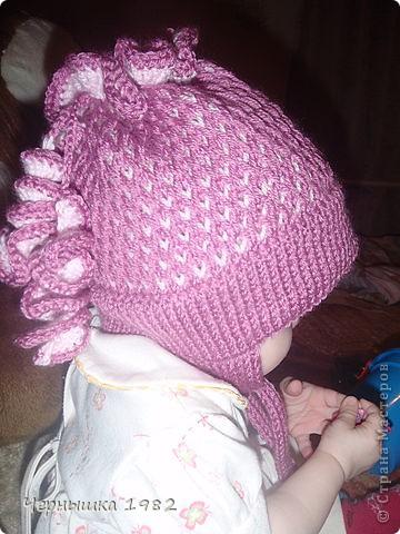 Теплые шапочки на осень фото 1