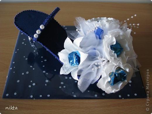 Туфелька с конфетами. фото 1