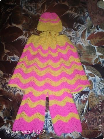 Увидела у одной женщины, идею такого костюмчика. Очень понравился и решила тоже сотворить для своей дочурке. Большое ей спасибо за идею!!! фото 3
