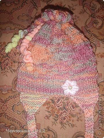 Теплые шапочки на осень фото 6