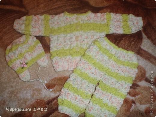 Костюмчик на новорожденного фото 2