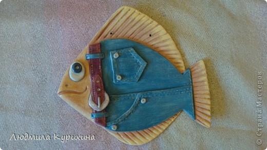 """""""Рыба - джинс"""" - мальчик, девочка.  Идея взята у Nila, за что ей большое спасибо. фото 2"""