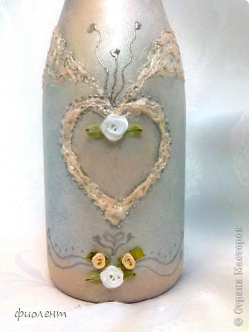 Свадебная бутылка фото 3