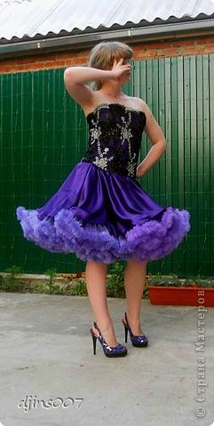Платье для дочери на выпускной. Последняя примерка.