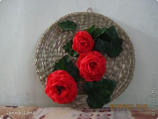 """Чайник """"Белиссимо"""" Цветы из салфеток. фото 2"""