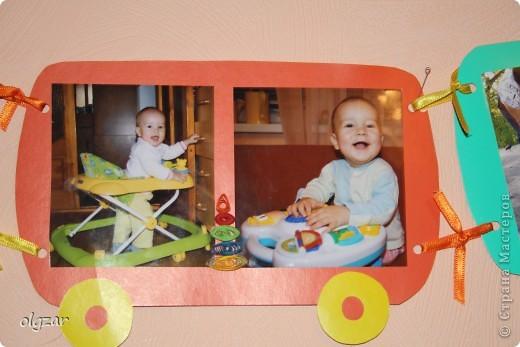 Здравствуйте! На день рождения сына делала вот такой паровозик. Попыталась освоить квиллинг, понимаю, что не все идеально, но может быть в качестве идеи, кому-нибудь пригодится. фото 5