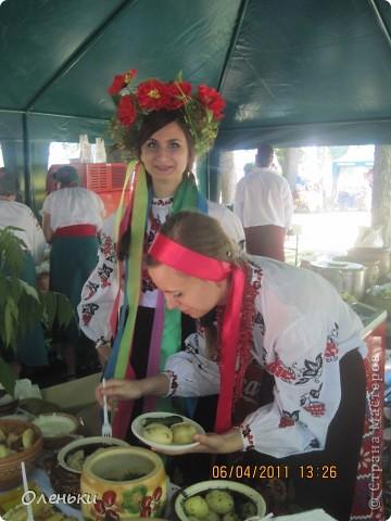 Решили в выходной съездить на экскурсию в соседний город Полтаву, да не просто а на праздник галушки! фото 15