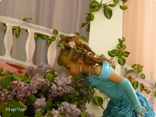"""Моя первая прическа """"На выпускной в д.с""""  фото 1"""