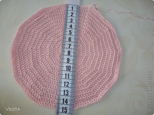 Гардероб Мастер-класс Вязание крючком Ажурная шапочка для девочки Пряжа фото 2