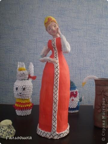 Эту куклу слепила я и моя подруга Юлия фото 1