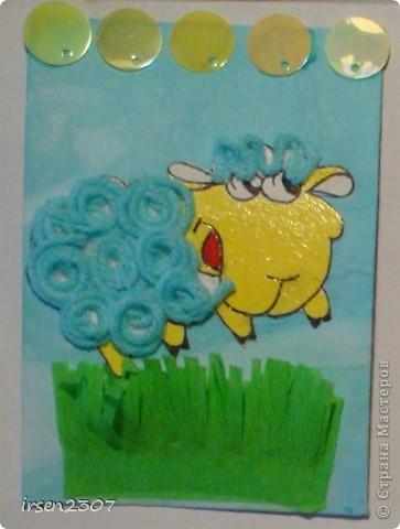 """""""Весёлая овечка"""" фото 2"""