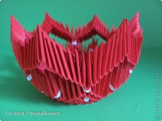Поделка изделие Оригами китайское модульное МОДУЛЬНОЕ ОРИГАМИ Бумага фото 6