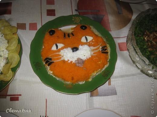 Вот такого тигреночка мы решили сделать на праздник. И вкусно и красиво.  фото 2