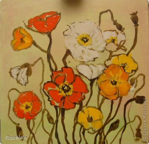 Ну наконец-то мои руки добрались и до живописи :))) фото 4