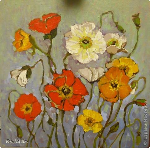 Ну наконец-то мои руки добрались и до живописи :))) фото 9
