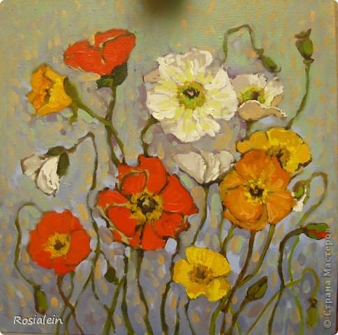 Ну наконец-то мои руки добрались и до живописи :))) фото 10