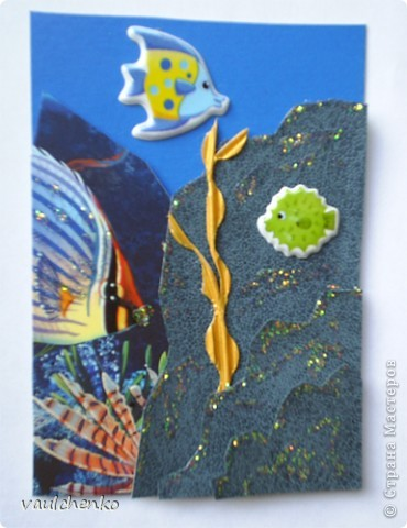 """Да... что же делать??? Мимо наклеек уже не проходишь - в голове сразу роятся идеи и рука тянется к кошельку!!!  Серия """"Лесные феи"""" Три очень милых феечки сидели...  в сказочном ночном лесу на листьях волшебного дерева! фото 10"""