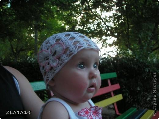 панамка готова!!!Моя внучка продемонстрировала фото 5