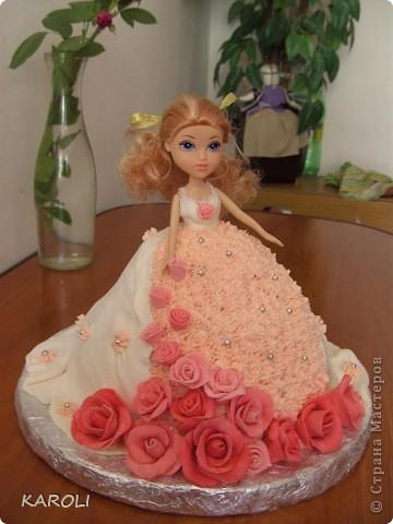 вот такой у меня получился тортик!!!!! фото 1