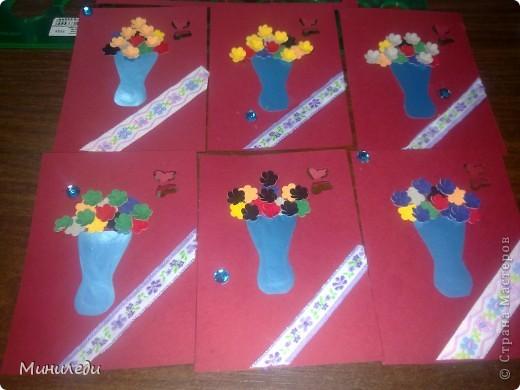 Смотря на то, как захлестнула нашу страну АСТмания,я тоже решила попробовать. Коллекция называется бархатные цветы. Это мои первые АТС,поэтому жду от вас указаний на мои ошибки:-) фото 1