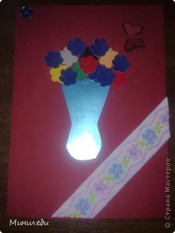 Смотря на то, как захлестнула нашу страну АСТмания,я тоже решила попробовать. Коллекция называется бархатные цветы. Это мои первые АТС,поэтому жду от вас указаний на мои ошибки:-) фото 2