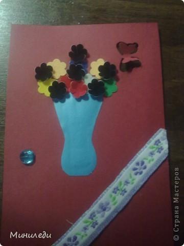 Смотря на то, как захлестнула нашу страну АСТмания,я тоже решила попробовать. Коллекция называется бархатные цветы. Это мои первые АТС,поэтому жду от вас указаний на мои ошибки:-) фото 4