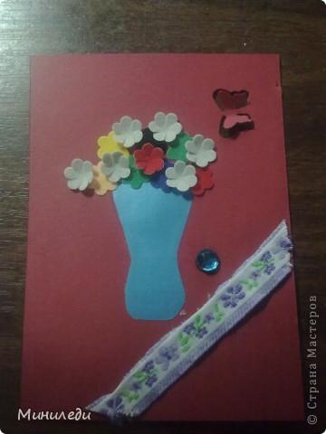 Смотря на то, как захлестнула нашу страну АСТмания,я тоже решила попробовать. Коллекция называется бархатные цветы. Это мои первые АТС,поэтому жду от вас указаний на мои ошибки:-) фото 5