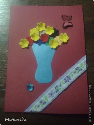Смотря на то, как захлестнула нашу страну АСТмания,я тоже решила попробовать. Коллекция называется бархатные цветы. Это мои первые АТС,поэтому жду от вас указаний на мои ошибки:-) фото 6