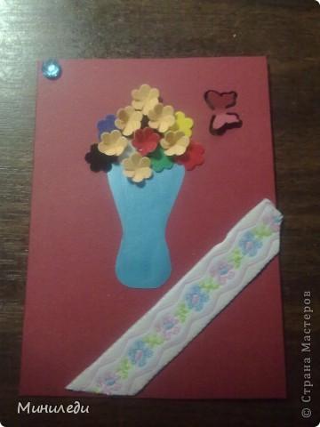 Смотря на то, как захлестнула нашу страну АСТмания,я тоже решила попробовать. Коллекция называется бархатные цветы. Это мои первые АТС,поэтому жду от вас указаний на мои ошибки:-) фото 7