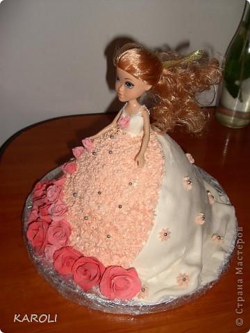 вот такой у меня получился тортик!!!!! фото 2