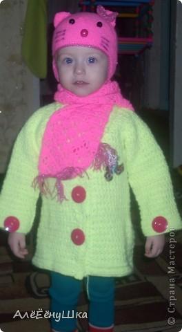 пальто,шапка  и шарф фото 1