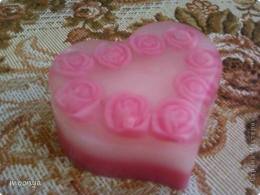 Сердечко в розах, форма собственного изготовления фото 2