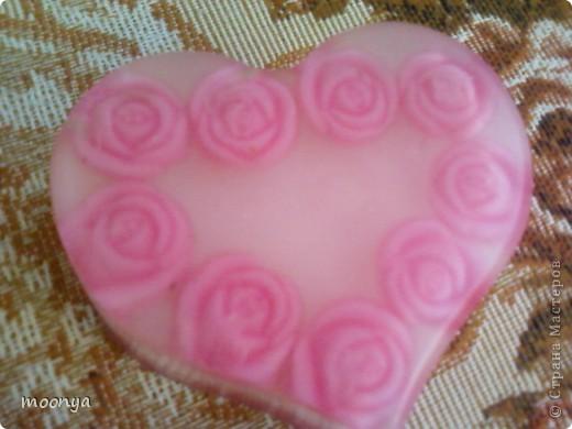 Сердечко в розах, форма собственного изготовления фото 3