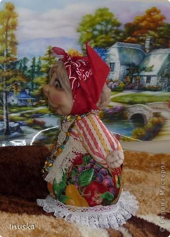 Трындычиха Баба Фрося, сделанная по МК Ликмы. фото 2
