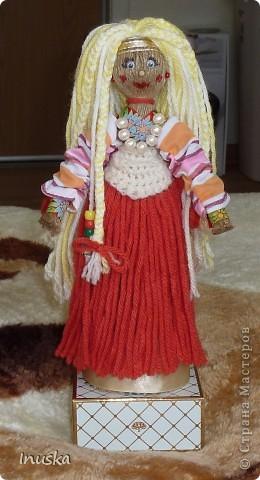Трындычиха Баба Фрося, сделанная по МК Ликмы. фото 4