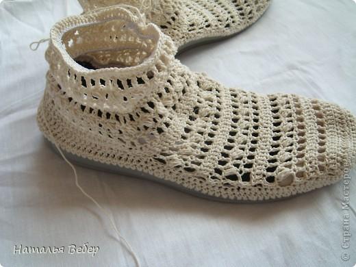 """Вязание - Обувь своими рукамиили как бабушкины тапочки превратить в модные ажурные полусапожки """" Поиск мастер классов, поделок с"""