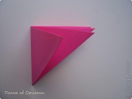 Мастер-класс 8 марта День рождения День учителя Начало учебного года Оригами Ваза с цветами Бумага фото 30