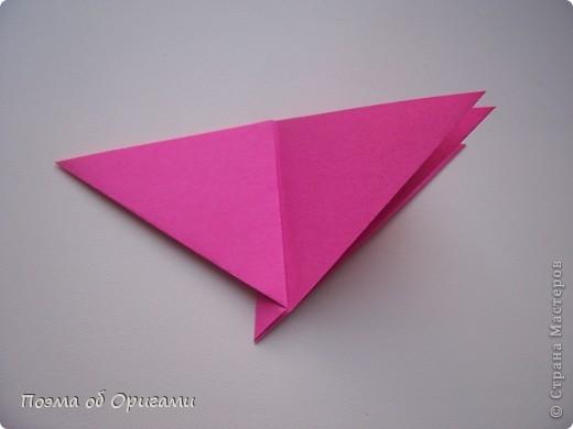 Мастер-класс 8 марта День рождения День учителя Начало учебного года Оригами Ваза с цветами Бумага фото 32