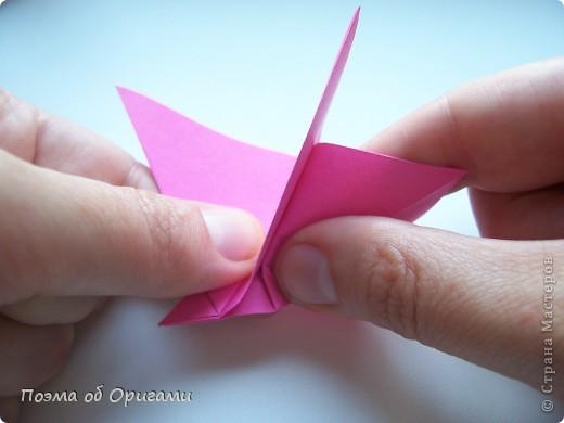 Мастер-класс 8 марта День рождения День учителя Начало учебного года Оригами Ваза с цветами Бумага фото 34