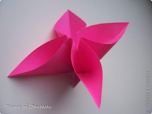 Мастер-класс 8 марта День рождения День учителя Начало учебного года Оригами Ваза с цветами Бумага фото 35