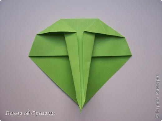 Мастер-класс 8 марта День рождения День учителя Начало учебного года Оригами Ваза с цветами Бумага фото 52