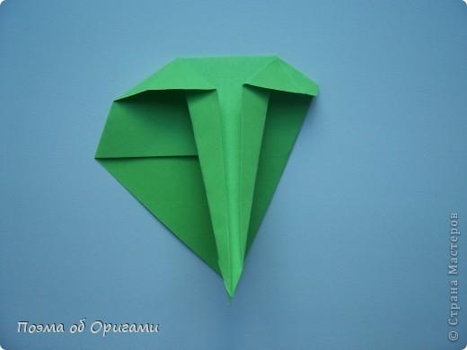 Мастер-класс 8 марта День рождения День учителя Начало учебного года Оригами Ваза с цветами Бумага фото 53