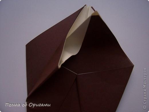 Мастер-класс 8 марта День рождения День учителя Начало учебного года Оригами Ваза с цветами Бумага фото 8