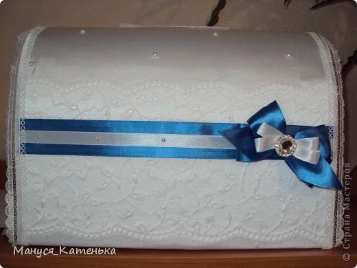 Вот такой замечательный сундук для финансовых подарков сделала я себе на свадьбу. Отдельное спасибо ~ jozzee ~ за ее полезный мастер класс http://stranamasterov.ru/node/190239 фото 1
