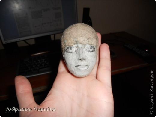 Наконец то я доделала свою третью куклу))) Процесс был долгим, но результат порадовал.. раставалась с ней со слезами на глазах)))... фото 3