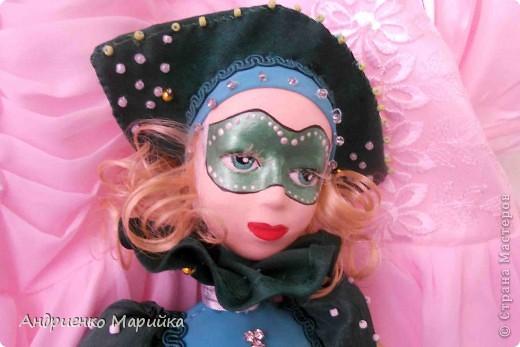 Наконец то я доделала свою третью куклу))) Процесс был долгим, но результат порадовал.. раставалась с ней со слезами на глазах)))... фото 11