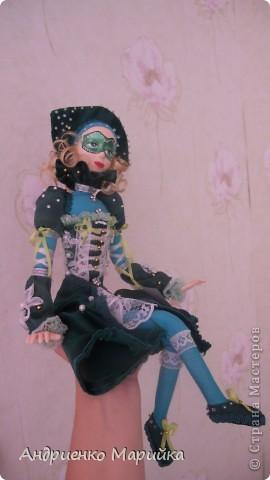 Наконец то я доделала свою третью куклу))) Процесс был долгим, но результат порадовал.. раставалась с ней со слезами на глазах)))... фото 10