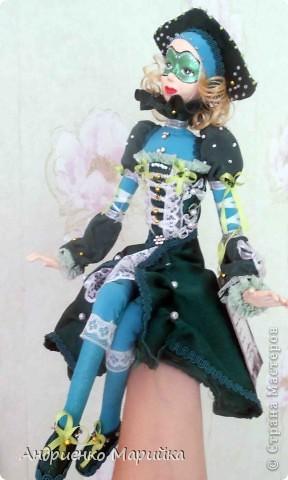 Наконец то я доделала свою третью куклу))) Процесс был долгим, но результат порадовал.. раставалась с ней со слезами на глазах)))... фото 7