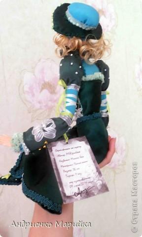 Наконец то я доделала свою третью куклу))) Процесс был долгим, но результат порадовал.. раставалась с ней со слезами на глазах)))... фото 9